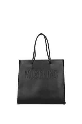 Moschino Handbags Women Leather Black