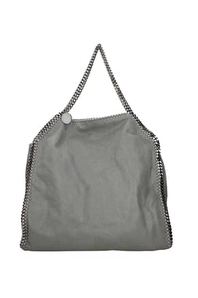 Stella McCartney Shoulder bags falabella Women Eco Suede Gray