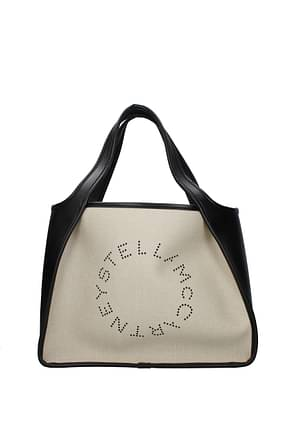 Stella McCartney Handbags tote Women Eco Leather Beige Black
