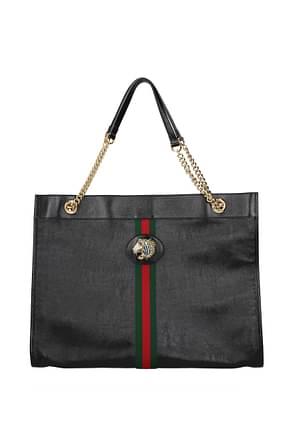 Gucci Shoulder bags Women Leather Black