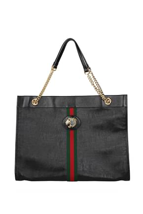 Gucci Shoulder bags Women Leather Black