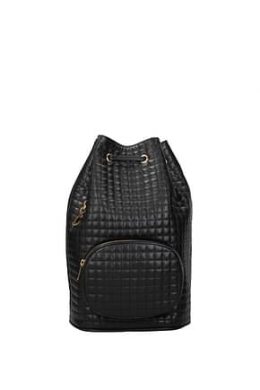 Celine Backpacks and bumbags Women Leather Black