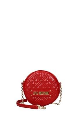 Love Moschino Crossbody Bag Women Polyurethane Red