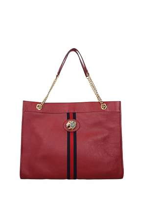 Gucci Shoulder bags Women Leather Red