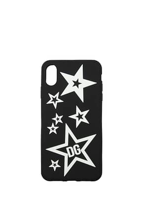 Dolce&Gabbana iPhone cover iphone xs max Men PVC Black