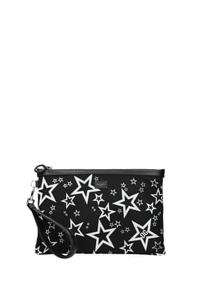 Dolce&Gabbana Clutches Men Fabric  Black
