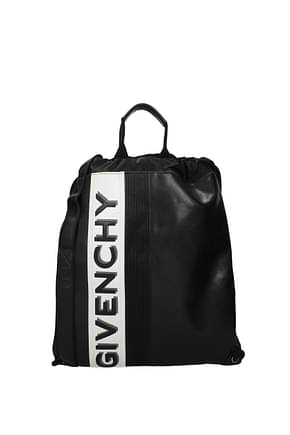 Givenchy Backpack and bumbags Men Leather Black