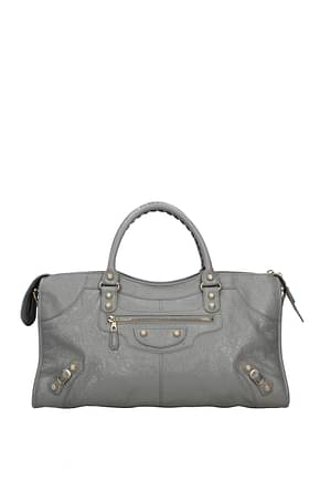 Balenciaga Handbags city Women Leather Gray