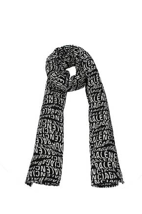 Balenciaga Scarves Women Wool Black