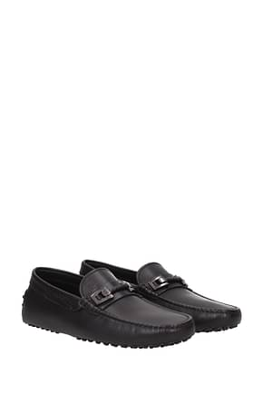 Tod's Loafers Men Leather Black