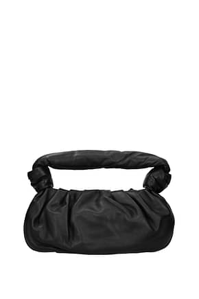 Miu Miu Handbags Women Leather Black