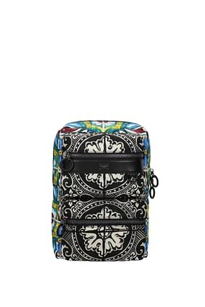 Dolce&Gabbana Backpack and bumbags Men Fabric  Multicolor