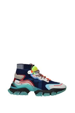 Moncler Sneakers leave no trace Men Fabric  Blue