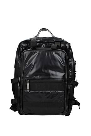 Balmain Backpack and bumbags Men Fabric  Black