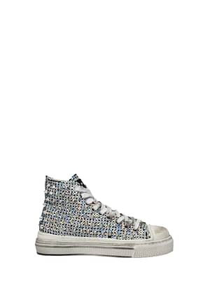 Gienchi Sneakers metal Donna Paillettes Multicolor