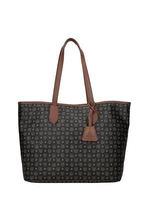 Pollini Shoulder bags Women PVC Black Acacia