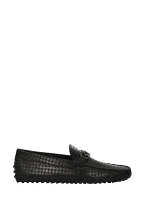 Tod's Loafers Men Suede Gray