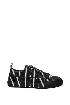 Valentino Garavani Sneakers Men Fabric  Black