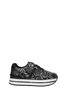 Guess Sneakers Women Polyurethane Black