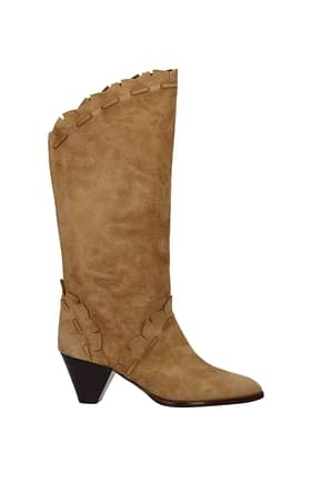 Isabel Marant Boots Women Suede Brown