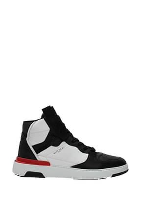 Givenchy Sneakers Men Leather Black