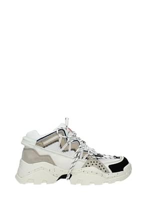 Kenzo Sneakers Hombre Tejido Beige