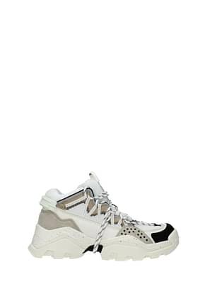 Kenzo Sneakers Women Fabric  Beige