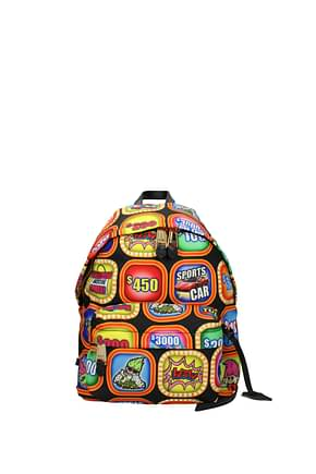 Moschino Backpacks and bumbags Women Fabric  Multicolor