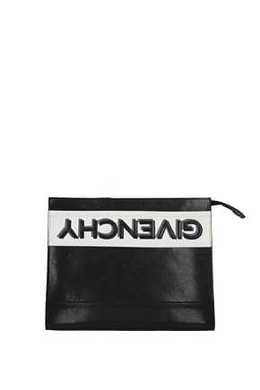 Givenchy Clutches Men Leather Black