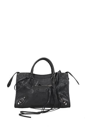 Balenciaga Handbags city Women Leather Gray