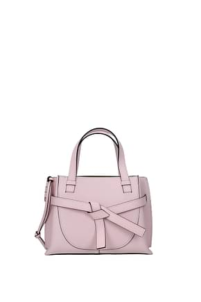 Loewe Handbags Women Leather Pink
