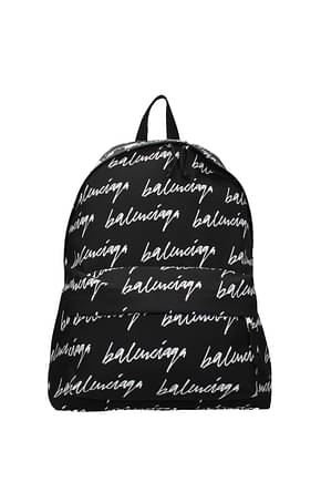 Balenciaga Backpack and bumbags Men Fabric  Black