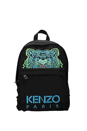 Kenzo Backpack and bumbags Men Fabric  Black Sky