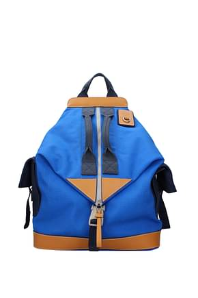 Loewe Backpack and bumbags Men Fabric  Blue