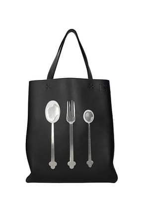 Loewe Shoulder bags Women Leather Black