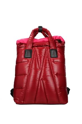 Moncler Backpacks and bumbags Women Fabric  Red Fuchsia