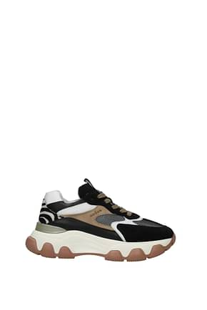 Hogan Sneakers hyperactive memory foam Women Suede Multicolor