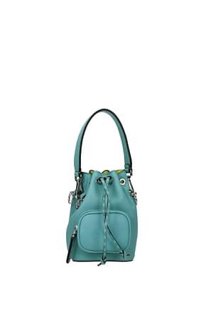 Fendi Handbags mon tresor Women Leather Heavenly Water