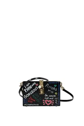 Dolce&Gabbana Crossbody Bag Women Wood Black
