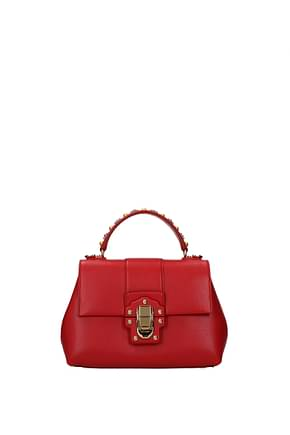 Dolce&Gabbana Handbags Women Leather Red