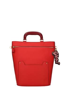 Anya Hindmarch Handbags orsett Women Leather Red