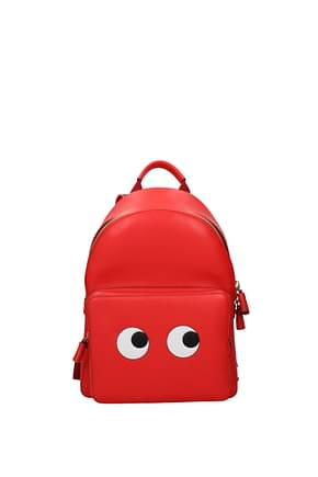Anya Hindmarch Backpacks and bumbags Women Leather Red