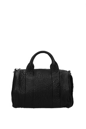 Alexander Wang Handbags Women Leather Black