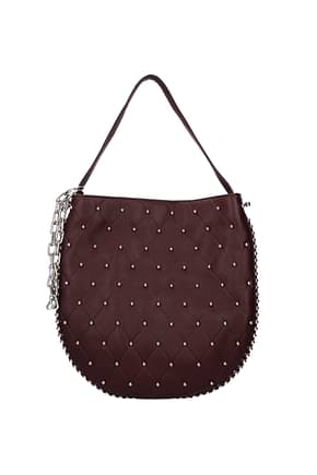 Alexander Wang Handbags Women Leather Violet