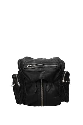 Alexander Wang Backpacks and bumbags Women Leather Black