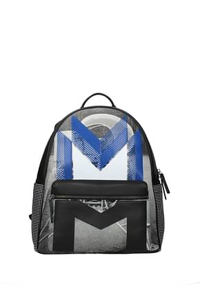 MCM Backpack and bumbags Men Fabric  Multicolor