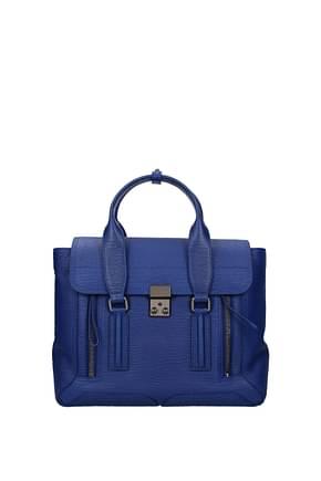 3.1 Phillip Lim Handbags Women Leather Blue Electric Blue