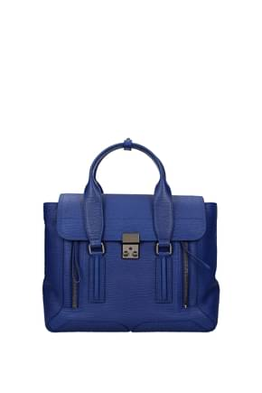 3.1 Phillip Lim Handbags Women Leather Blue Electric Blue