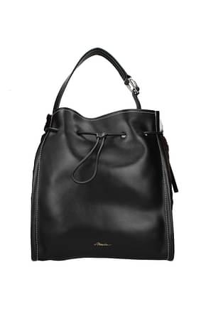 3.1 Phillip Lim Shoulder bags hudson market tote Women Leather Black