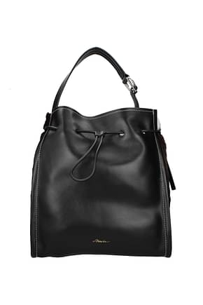 3.1 Phillip Lim Shoulder bags hudson market tote Women Leather Black